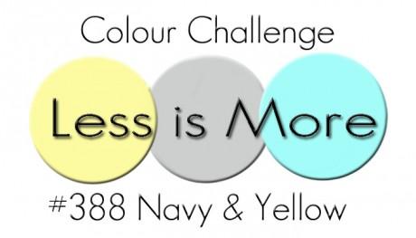 388 Colour Navy Yellow