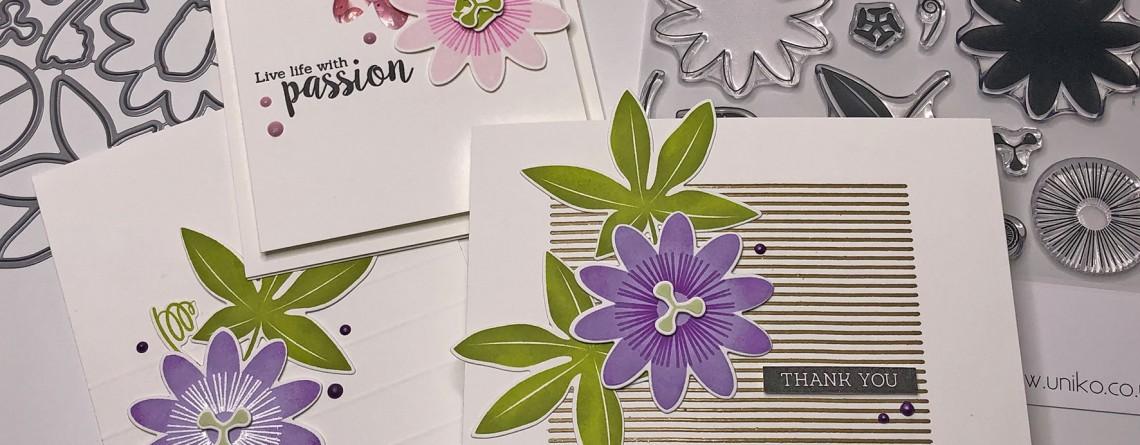 Introducing Passiflora Designer Dies Uniko